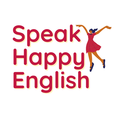 Speak Happy English course logo